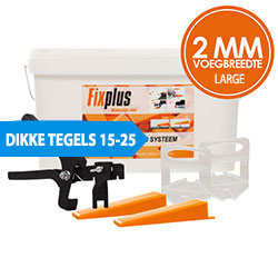 Fix Plus 2 mm LARGE Levelling | 15-25 mm