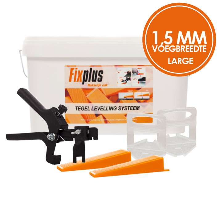 Fix Plus 1,5 mm LARGE Levelling