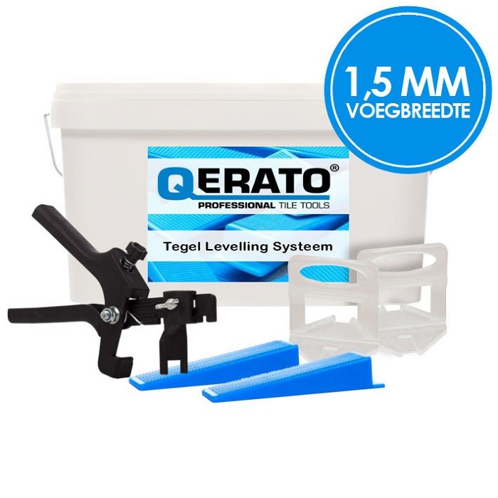 Qerato 1,5 mm Levelling Systeem