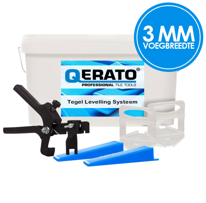 Qerato 3 mm Levelling Systeem