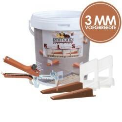 Raimondi levelling system 3 mm   3 - 12 mm