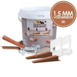 Raimondi levelling system 1.5 mm 3D   3 - 12 mm