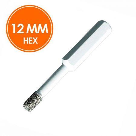 Carat Tegelboor 12mm Droog HEX