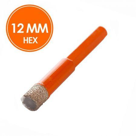 Fix Plus Tegelboor 12mm Droog HEX
