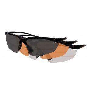 Veiligheidsbril met 3 lenzen