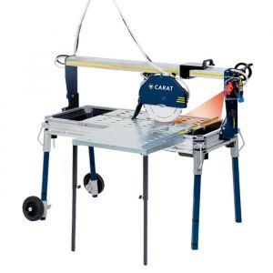 Carat P-3508 Laser Tegelzaagmachine met zijtafel. Voor keramische tegels en natuursteen