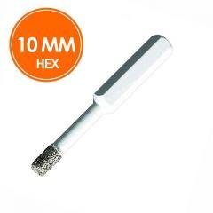 Carat Tegelboor 10mm Droog HEX